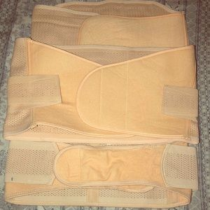 Postpartum belts